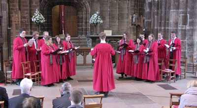 Today the on-line magazine Inspire has published an article devoted to our on-line broadcast of Choral Evensong. You can read […]